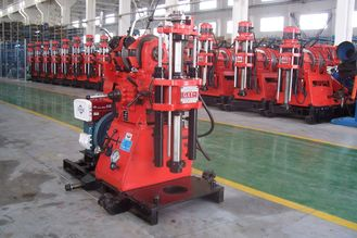Soil Investigation Core Drilling Machine Easy Operation With Hydraulic Feeding Device
